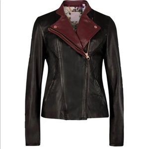 EUC soft leather jacket